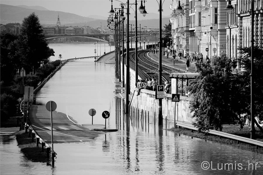 Budimpešta - poplava