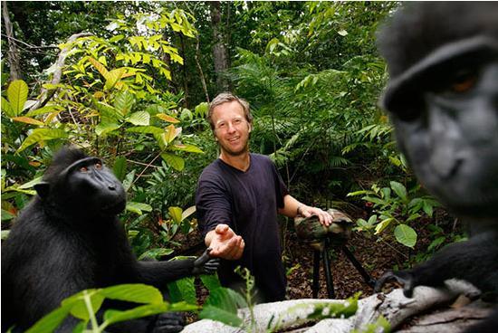 majmun selfie