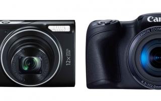 PowerShot SX410 i IXUS 275 HS