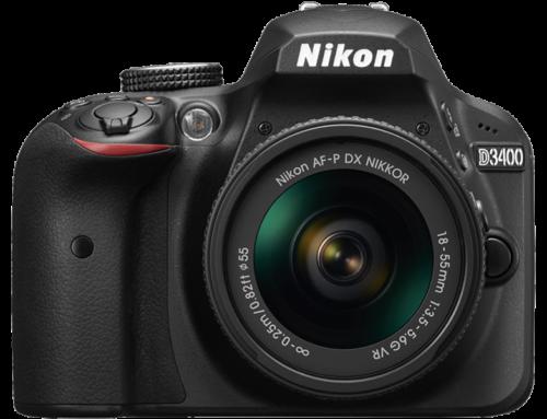 Nikon predstavio D3400 i četiri nova objektiva