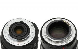 Nikon F i Canon EF
