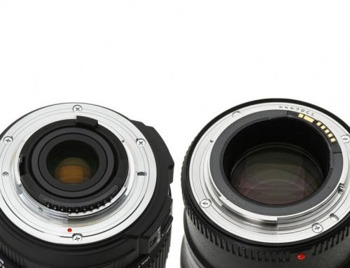 Usporedba Nikon F i Canon EF navoja