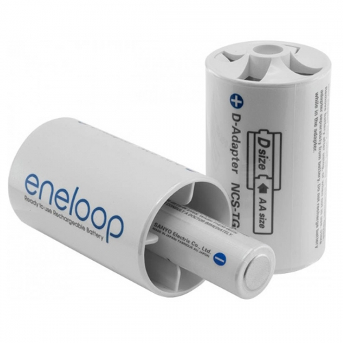 Adapter Panasonic Eneloop D