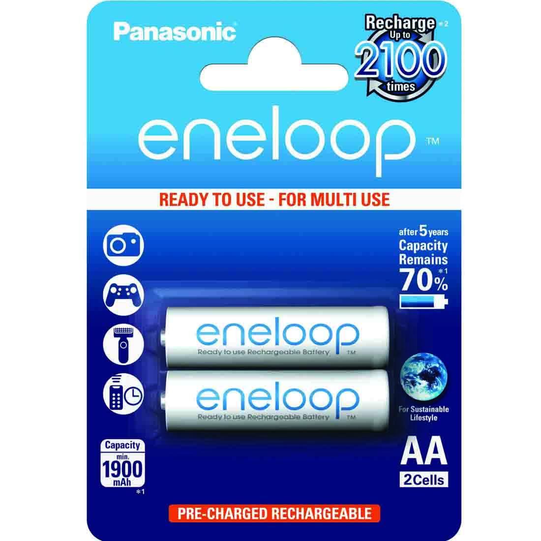 Eneloop standardne - 2 x AA