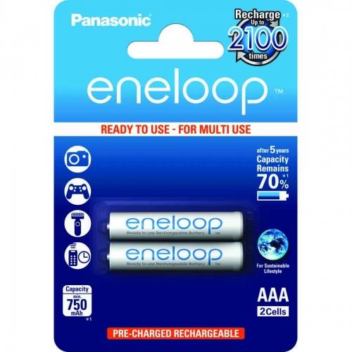 Eneloop standardne - 2 x AAA