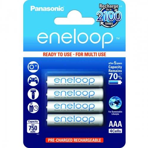 Eneloop standardne - 4 x AAA