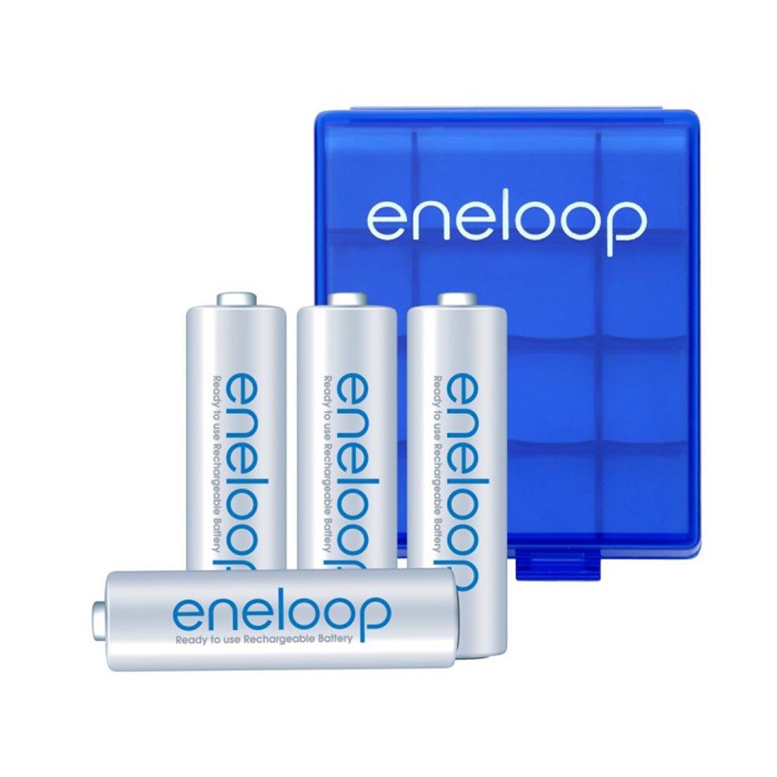 Eneloop standardne - 4 x AA + kutijica
