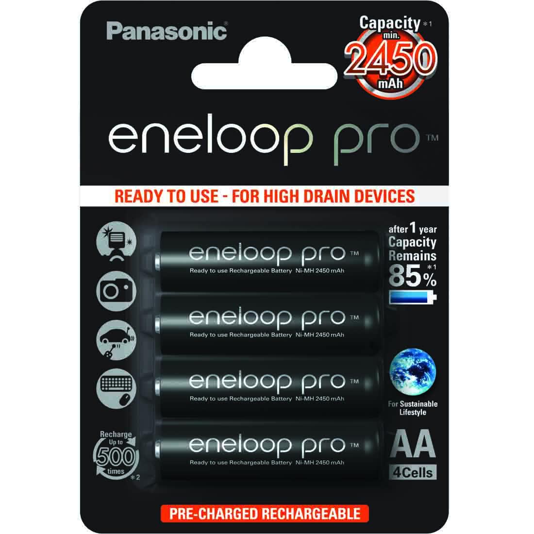 Eneloop pro - 4 x AA