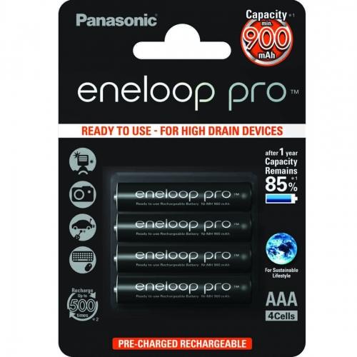 Eneloop pro - 4 x AAA