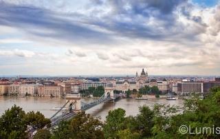 Budimpešta - panorama
