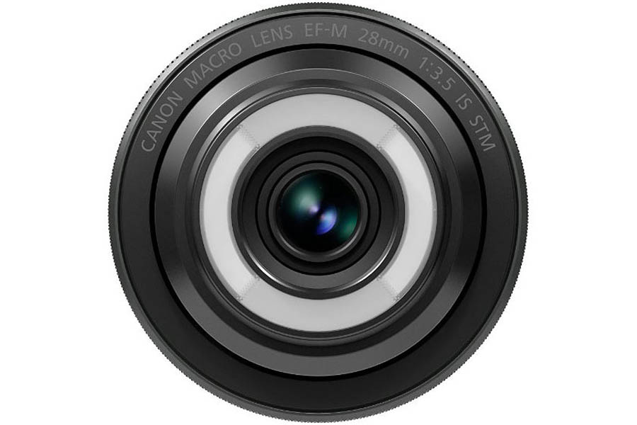 Canon EF-M 28 mm f/3.5 Macro objektiv