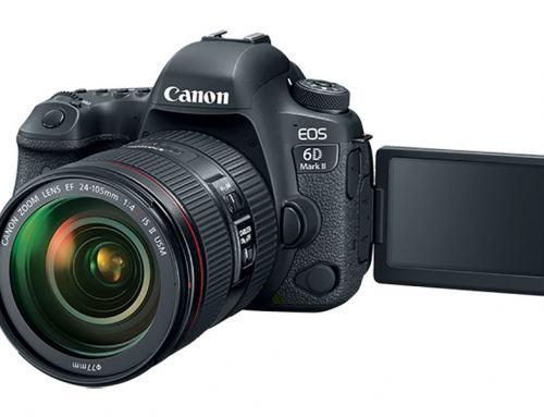 Predstavljen dugo očekivani Canon EOS 6D Mark II