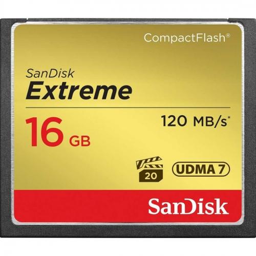 CompactFlash kartica SanDisk Extreme 16 GB