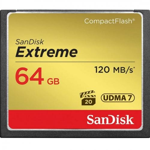 CompactFlash kartica SanDisk Extreme 64 GB