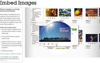 Embedanje fotografija Getty images