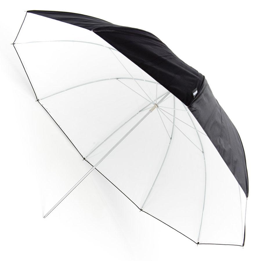 Kišobran Bowens srebrni/bijeli - 140 cm