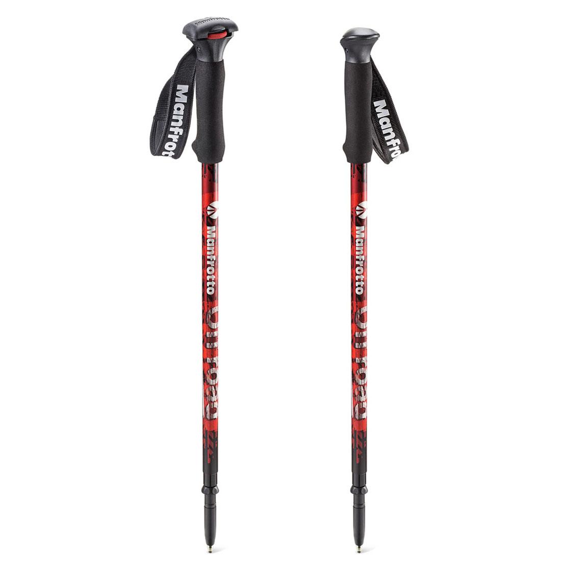 Monopod Manfrotto Off road MKOFFROAD - crveni štap za hodanje
