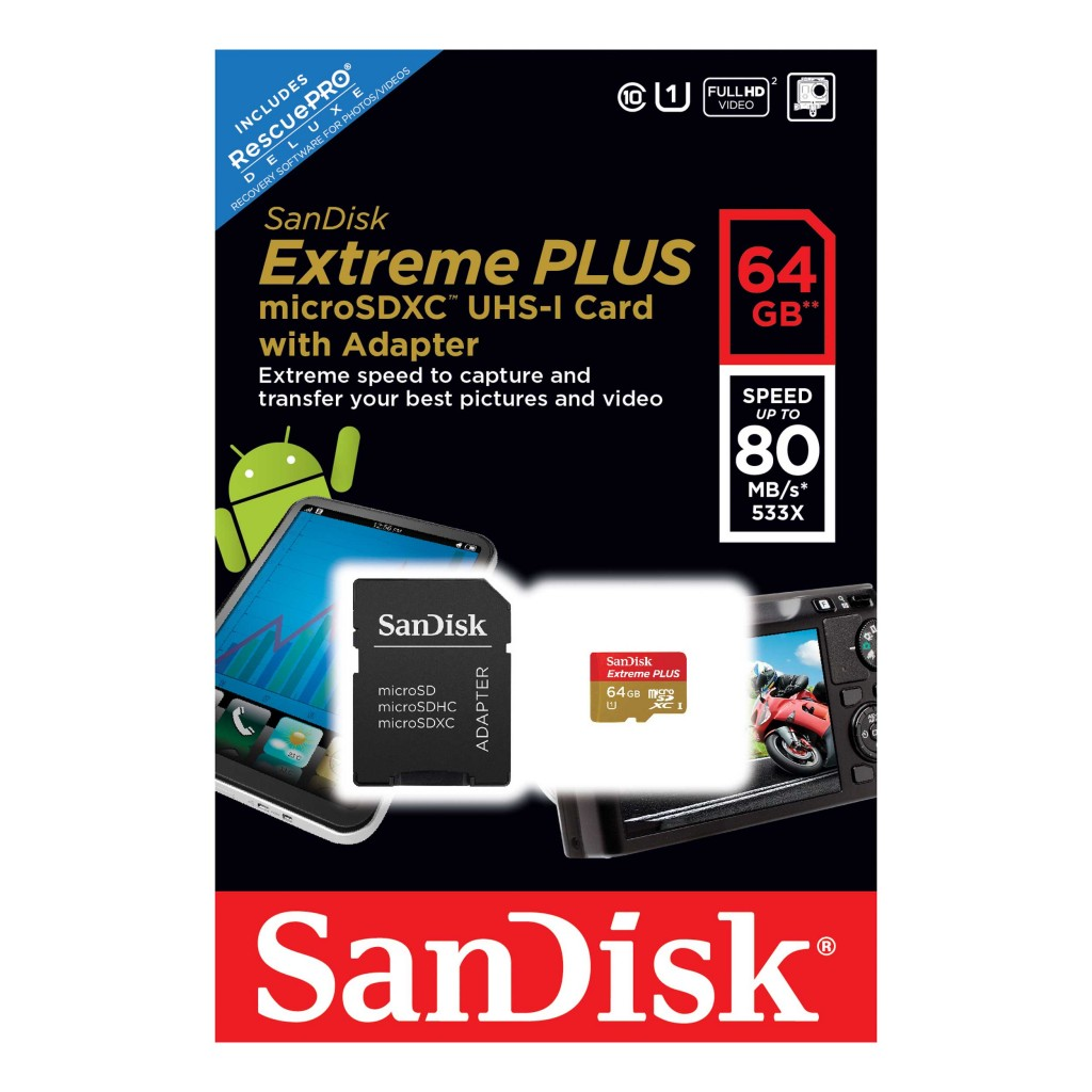 Micro SDXC kartica SanDisk Extreme Plus 64 GB