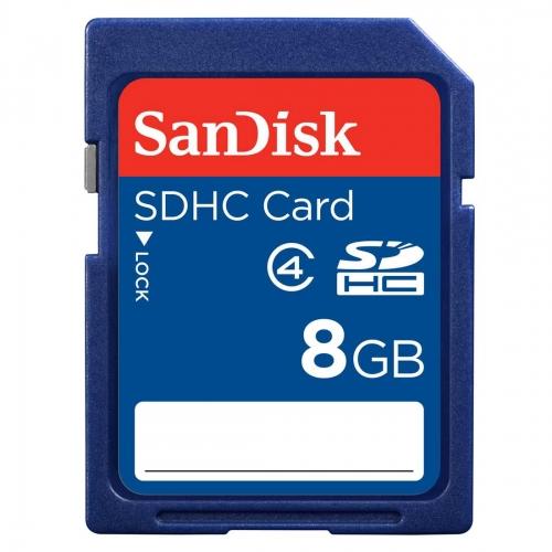 SDHC kartica SanDisk 8 GB