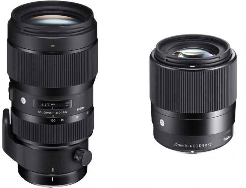 Sigma predstavila dva nova objektiva: 50-100 mm f/1.8 DC HSM Art i 30 mm f/1.4 DC DN Contemporary