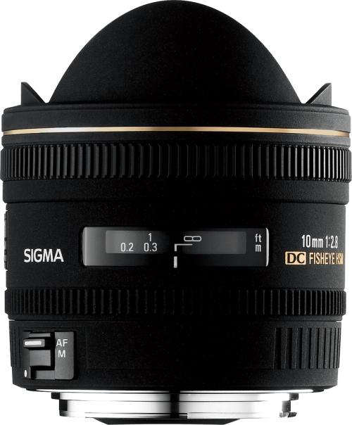 Objektiv Sigma 10mm f/2.8 EX DC HSM