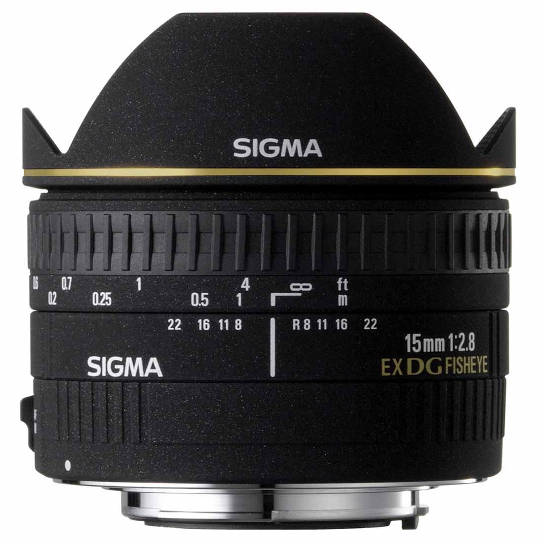 Objektiv Sigma 15 mm f/2.8 EX DG Diagonal Fisheye