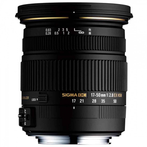 Objektiv Sigma 17-50 mm f/2.8 EX DC OS HSM