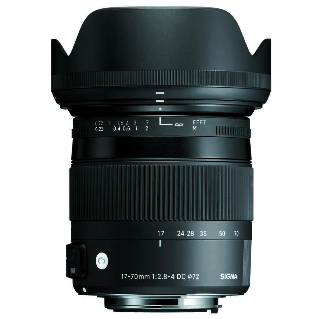 Objektiv Sigma 17-70 mm f/2.8-4 DC Macro OS HSM