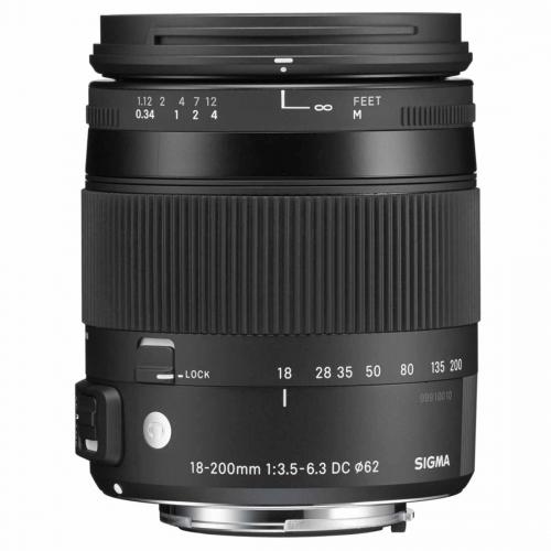 Objektiv Sigma 18-200 mm f/3.5-6.3 DC Macro OS HSM