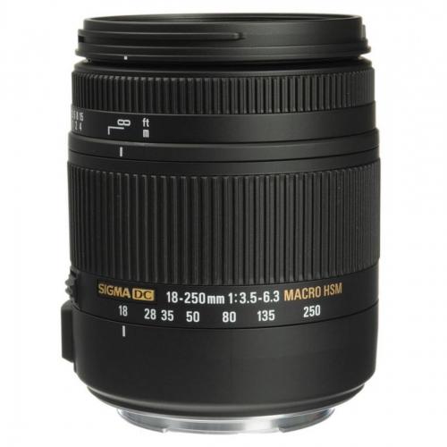 Sigma 18-250 mm f/3.5-6.3 DC Macro OS HSM