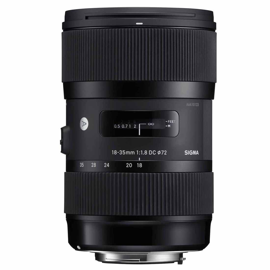 Objektiv Sigma 18-35 mm f/1.8 DC HSM Art