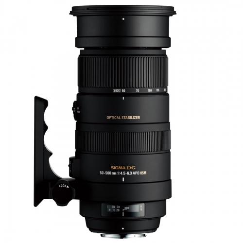 Objektiv Sigma 50-500 mm f/4.5-6.3 APO DG OS HSM