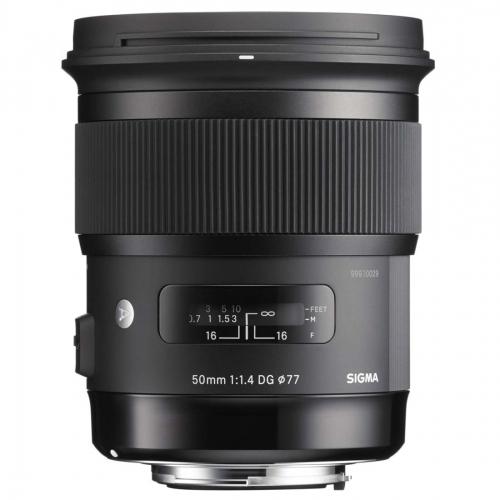 Sigma 50 mm f/1.4 DG HSM Art