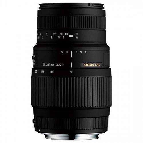 Objektiv Sigma 70-300mm f/4-5.6 DG Macro