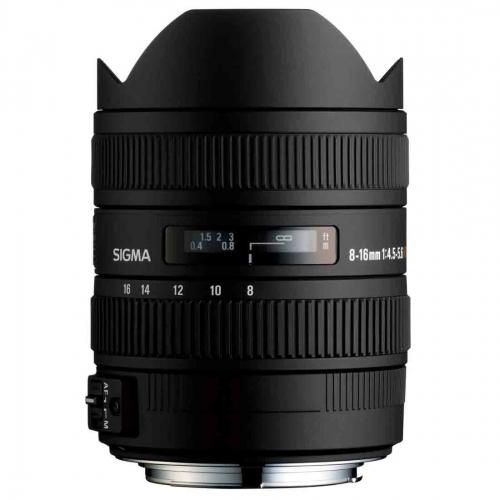 Objektiv Sigma 8-16 mm f/4.5-5.6 DC HSM