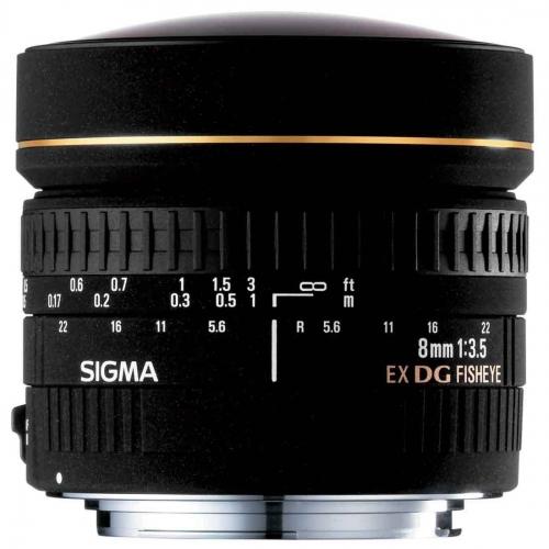 Objketiv Sigma 8 mm f/3.5 EX DG Circular Fisheye