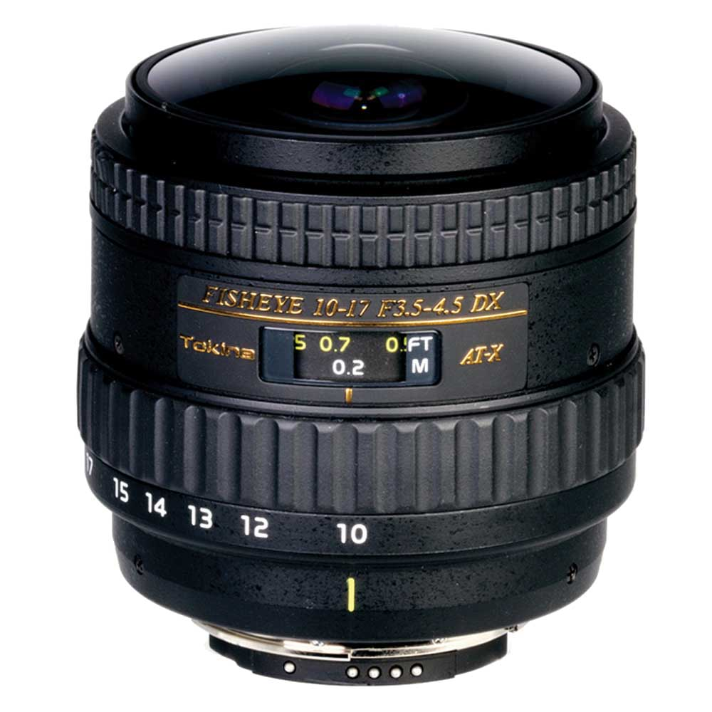 Tokina 10-17 mm f/3.5-4.5 AT-X 107 AF DX NH