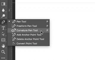 curvature pen tool