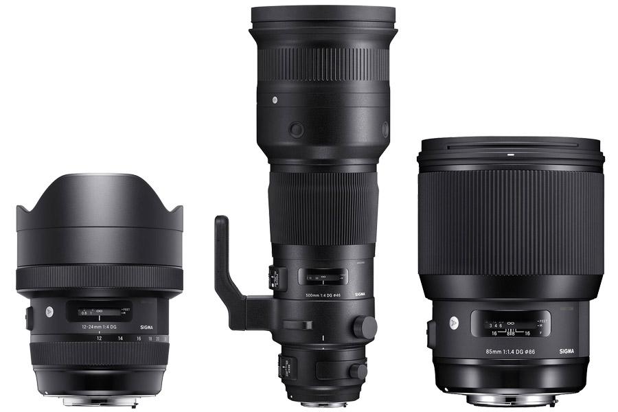 Sigma je predstavila tri nova full-frame objektiva