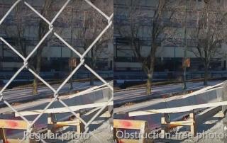 uklanjanje refleksija i opstrukcija iz fotografija